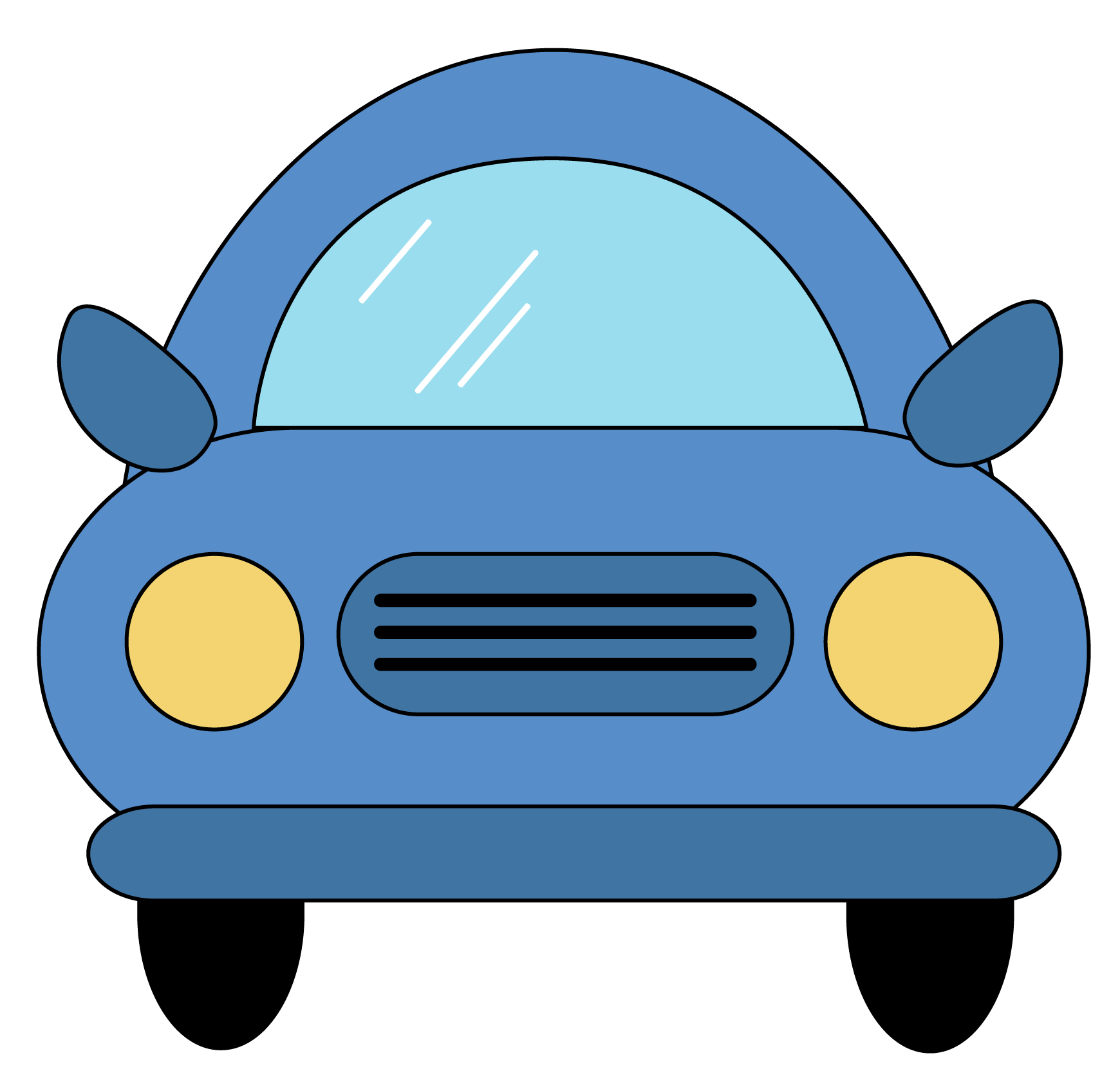 Free animated car clipart clipart transparent download 28+ Collection of Front View Of A Car Clipart | High quality, free ... clipart transparent download
