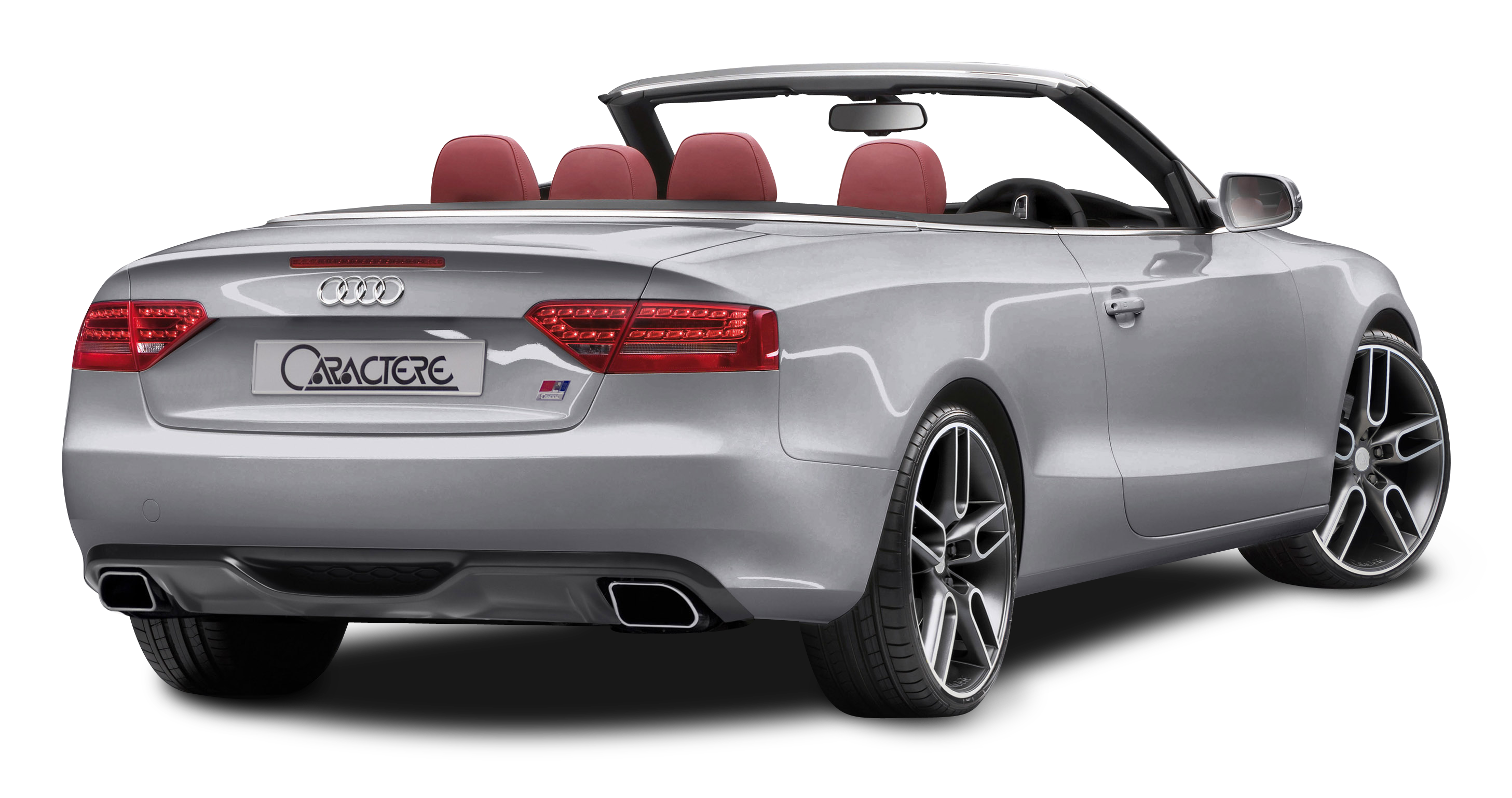 Back car clipart png library download Audi A5 CABRIO Grey Back View Car PNG Image - PurePNG   Free ... png library download