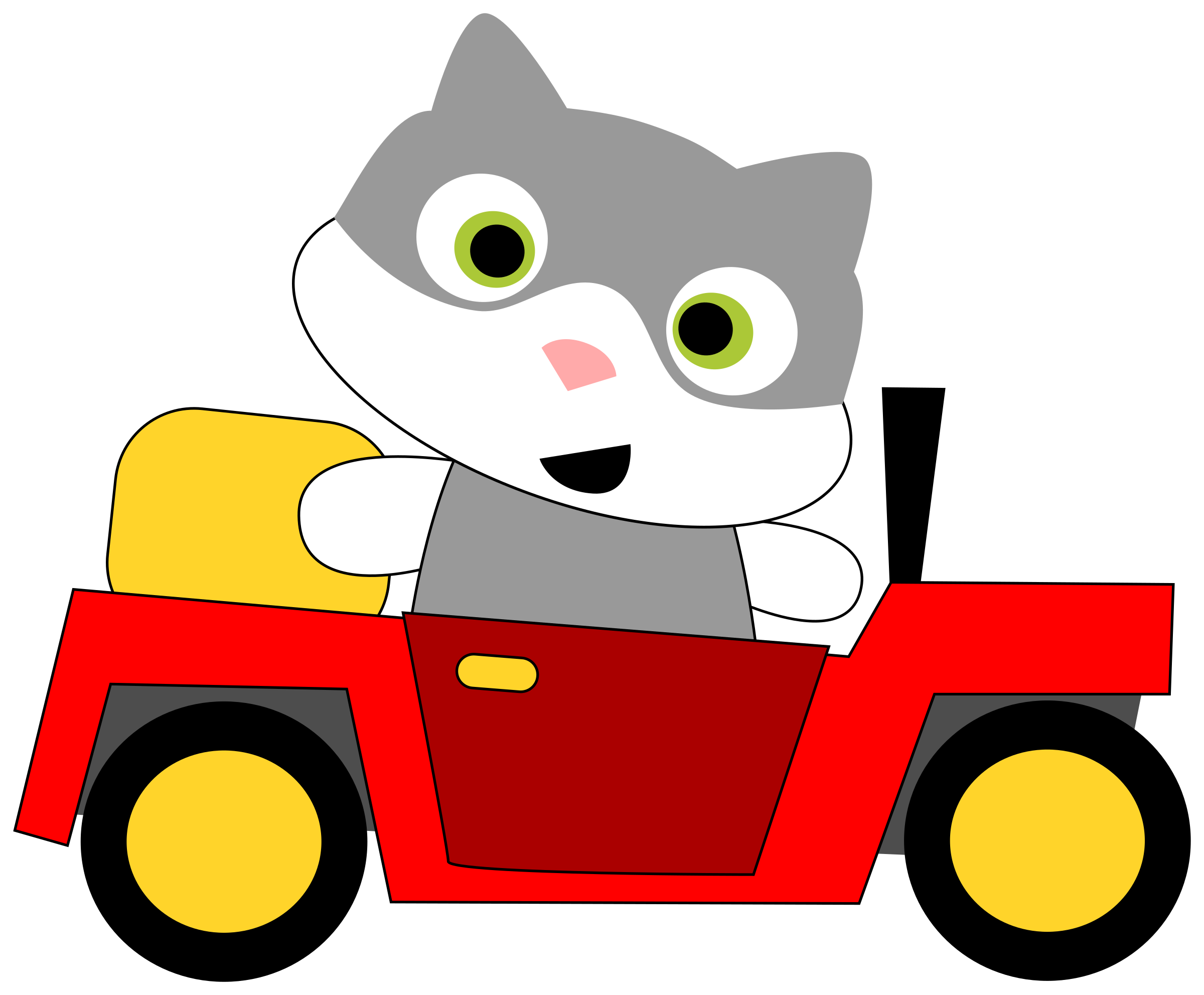 Christmas clipart cat svg royalty free download Car Driving Clipart | Free download best Car Driving Clipart on ... svg royalty free download