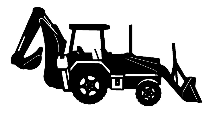 Jcb images clipart png free 53+ Backhoe Clipart | ClipartLook png free