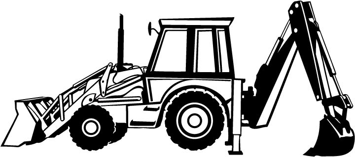 Back hoe clipart clip library stock Free Backhoe, Download Free Clip Art, Free Clip Art on Clipart Library clip library stock