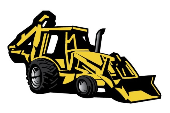 Back hoe clipart vector library Free Backhoe Cliparts, Download Free Clip Art, Free Clip Art on ... vector library