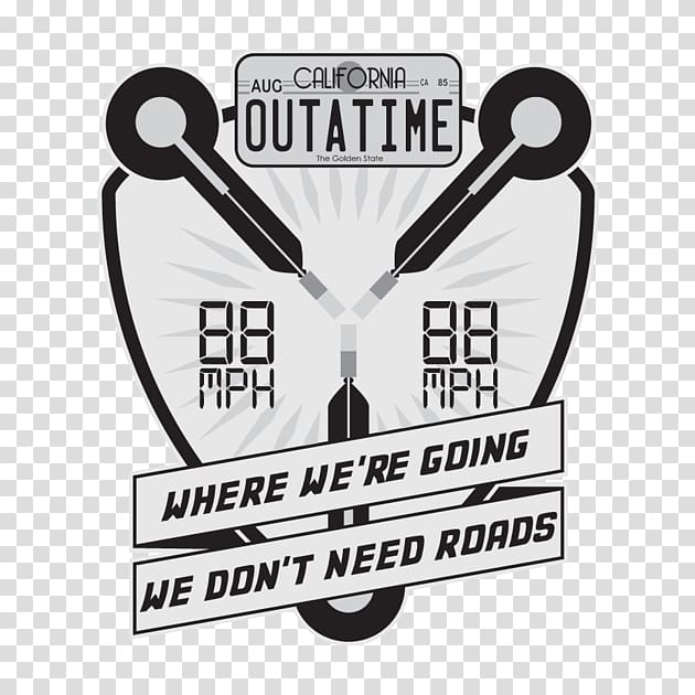 Back in time clipart vector transparent stock Back to the Future Back in Time DeLorean time machine Decal Time ... vector transparent stock