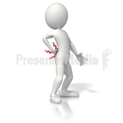 Back injury clipart freeuse Figure With Back Pain - Medical and Health - Great Clipart for ... freeuse