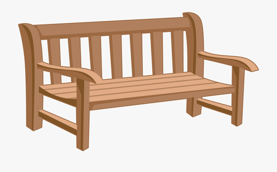 Back of a bench clipart clipart royalty free download Bench Clipart Park Bench - Park Bench Clipart Png #345340 - Free ... clipart royalty free download