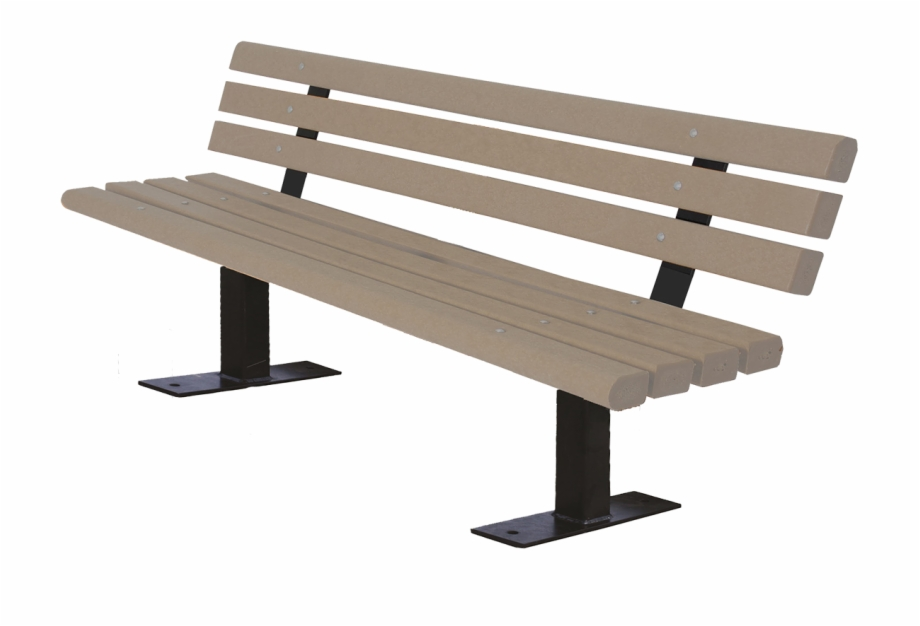 Back of a bench clipart transparent download Dog Park Trail Bench With Back - Trail Benches Free PNG Images ... transparent download