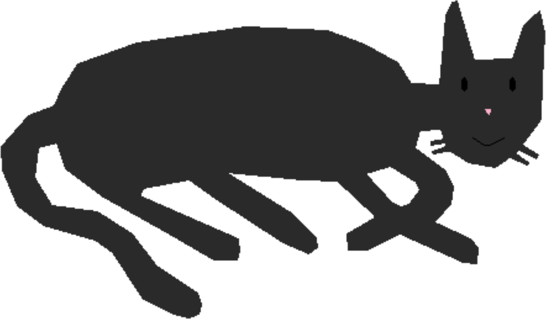 Back of a cat clipart png freeuse download Clipart - Look Back Cat png freeuse download
