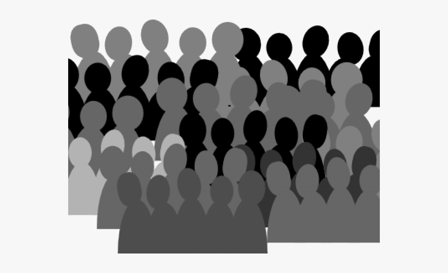 Back of a crowd clipart banner royalty free Crowd Clipart Shadow - Crowd Of People Transparent #380087 - Free ... banner royalty free