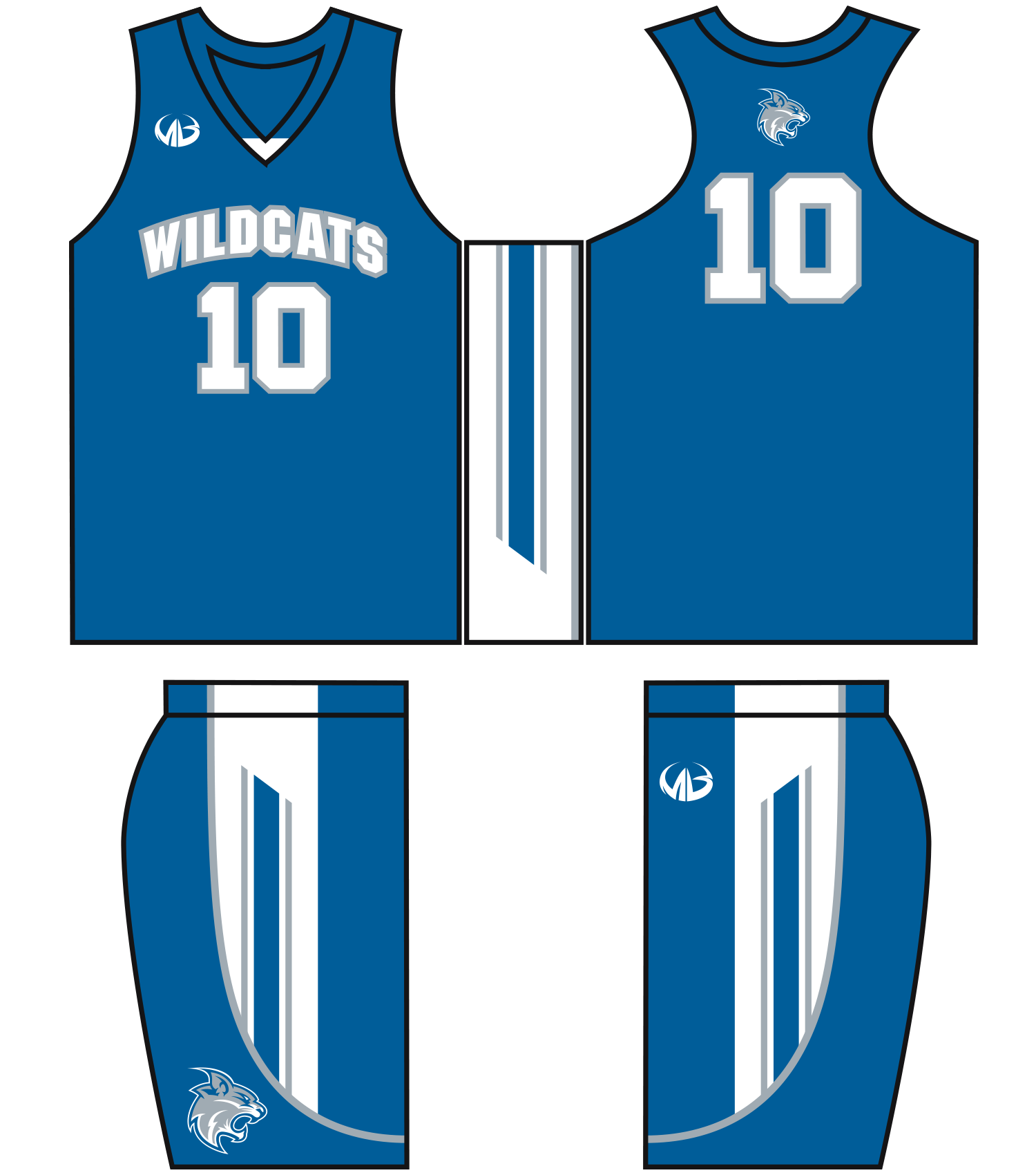 Basketball uniform clipart clipart library 28+ Collection of Blue Basketball Jersey Clipart | High quality ... clipart library
