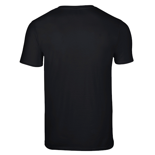 Back of black shirt clipart picture black and white stock Black t shirt template front and back clipart images gallery for ... picture black and white stock