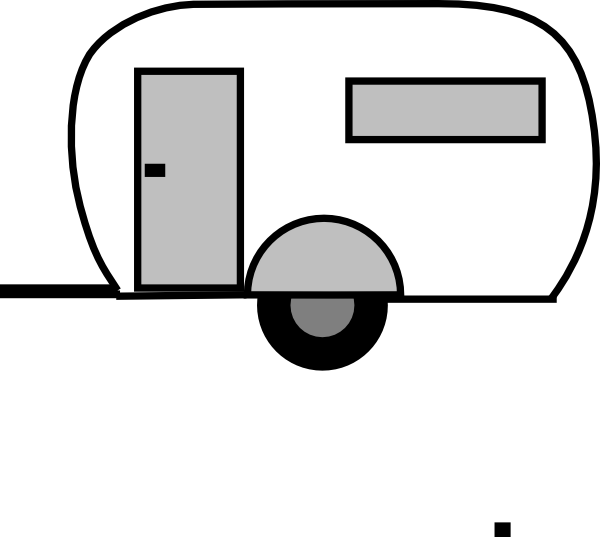 Back of book clipart graphic download Airstream Clip Art at Clker.com - vector clip art online, royalty ... graphic download