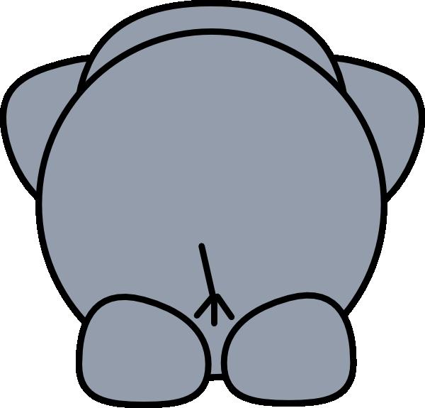 Back of book clipart clip Elephant Back Clip Art at Clker.com - vector clip art online ... clip