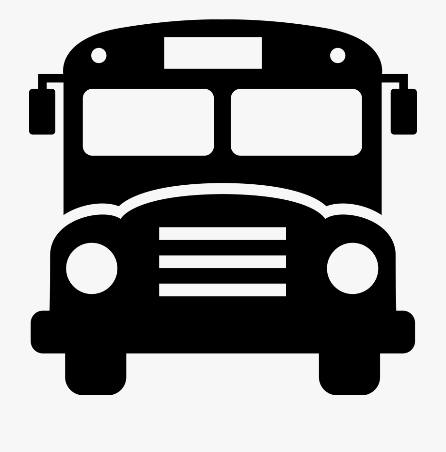 Bus front clipart banner free library School Bus Front Clipart #110990 - Free Cliparts on ClipartWiki banner free library