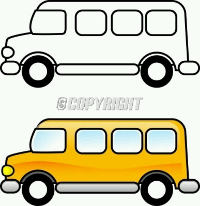 Back of bus clipart black and white clipart transparent School Bus Clipart Black And White | Free download best School Bus ... clipart transparent