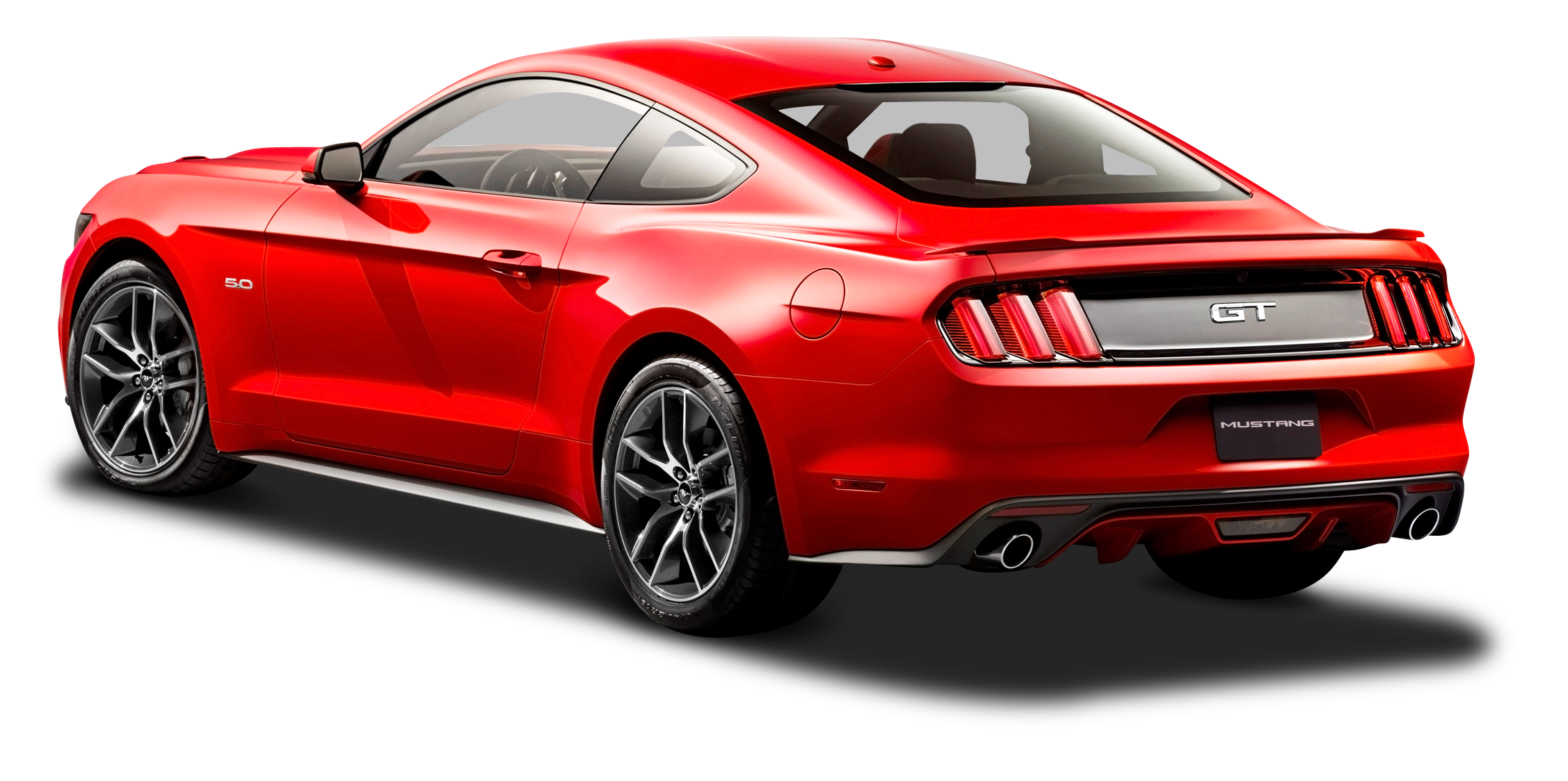 Mustang car clipart free clip art freeuse Ford Mustang Red Car Back Side PNG Image - PurePNG | Free ... clip art freeuse