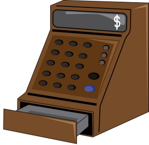 Free Cash Register Clipart Image 0515-0911-1622-0304 | Business Clipart jpg library download