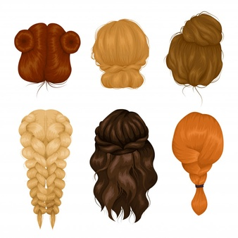 Back of curly hair clipart transparent stock Curly Hair Vectors, Photos and PSD files | Free Download transparent stock