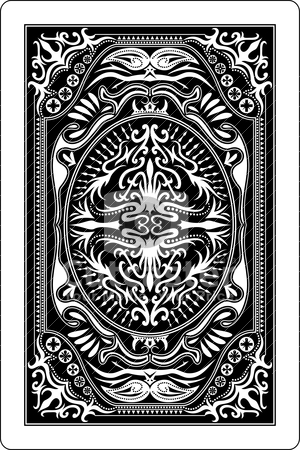 Playing card back clipart clip freeuse library Playing card back side 60x90 mm stock vector clip freeuse library