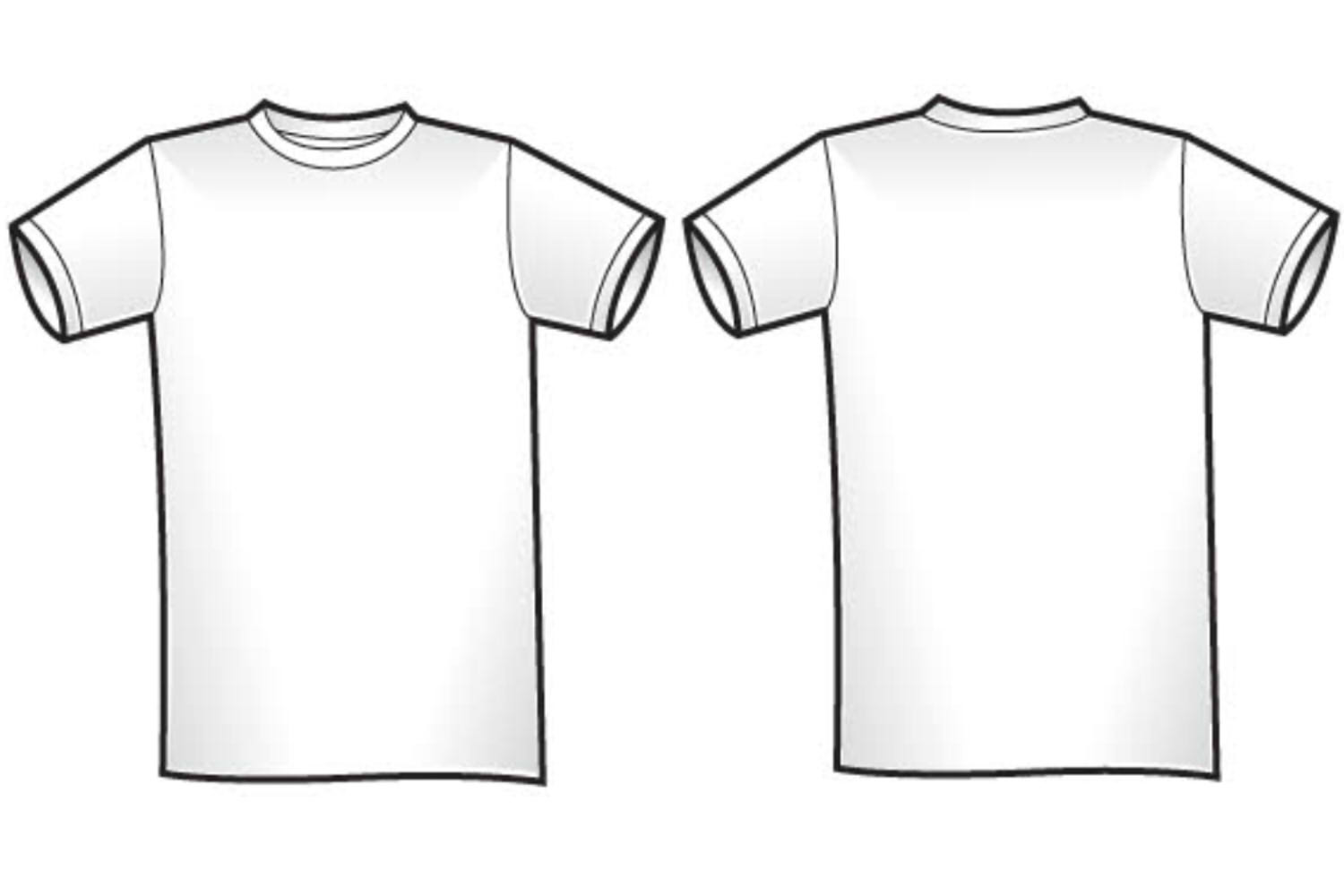 Free Blank T-shirt Outline, Download Free Clip Art, Free Clip Art on ... banner library library