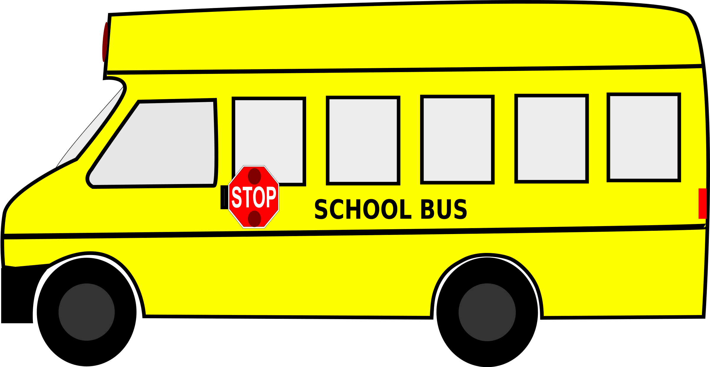 School bus border clipart svg free stock School Bus Icons PNG - Free PNG and Icons Downloads svg free stock