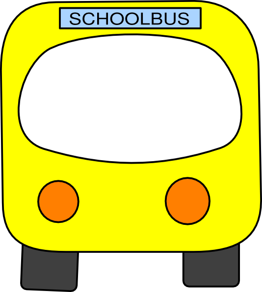 School bus border clipart vector black and white Free Clip Art School Bus | Clipart Panda - Free Clipart Images vector black and white