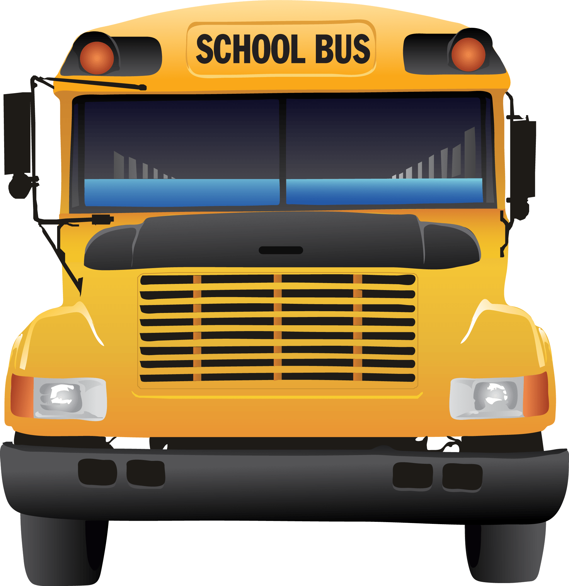 School bus clipart for kids png library 18fresh School Bus Clipart Free - Clip arts & coloring pages png library