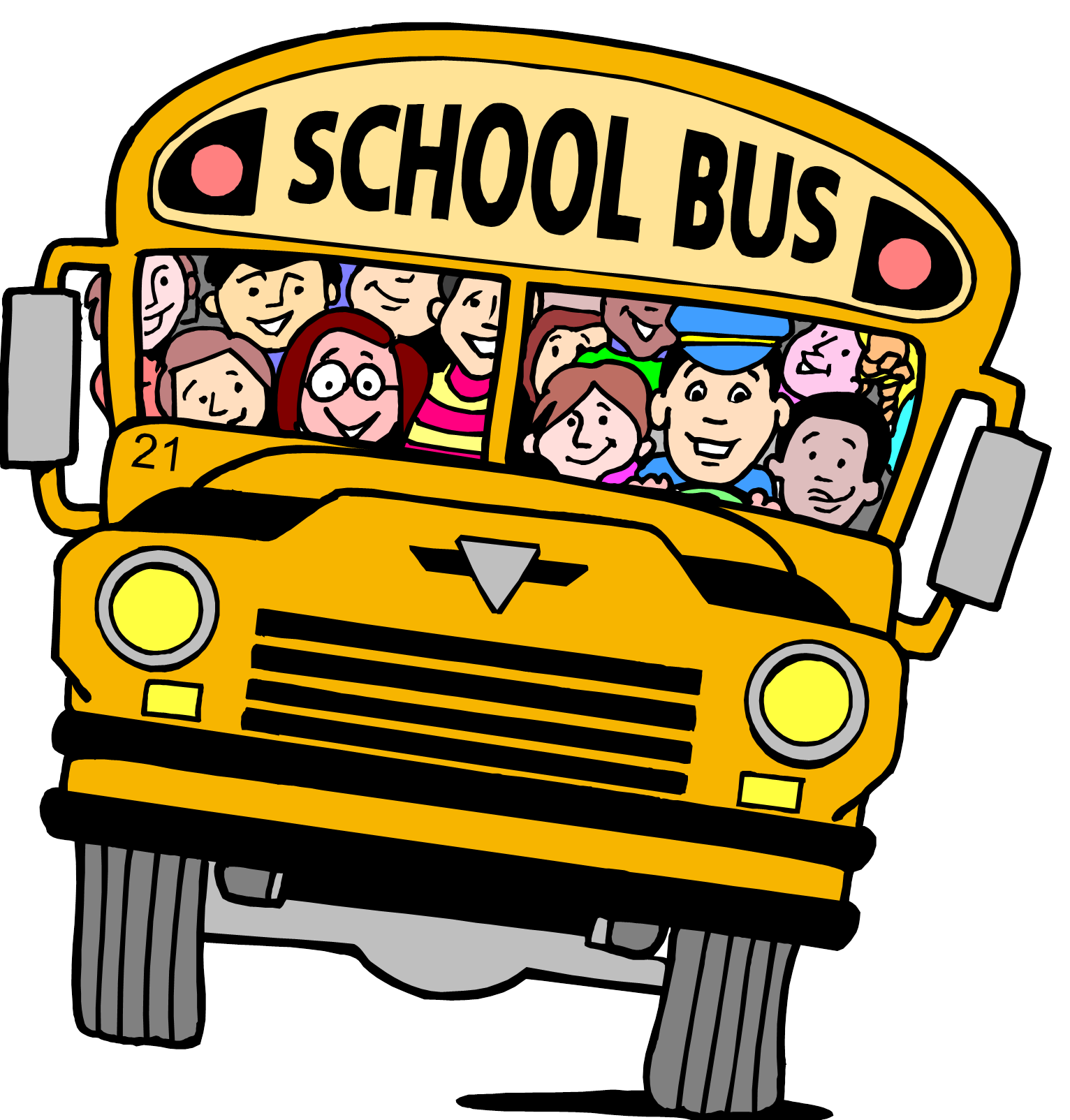 School bus clipart for kids transparent schoolbus clipart | Clip Art - school bus | terrace | Pinterest ... transparent