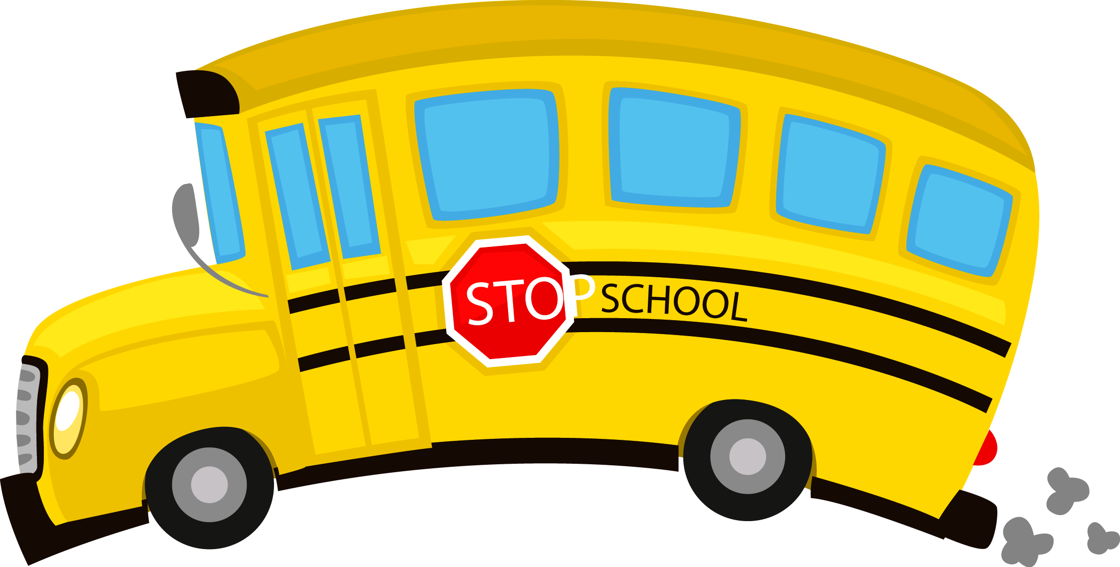 School bus clipart for kids graphic black and white download School Bus Drawing Pictures at GetDrawings.com | Free for personal ... graphic black and white download