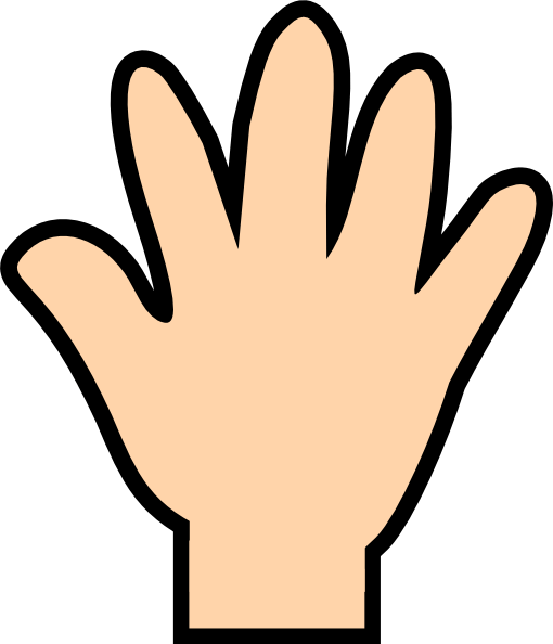 Back of the hand clipart clip art black and white Hand Back Cliparts - Cliparts Zone clip art black and white