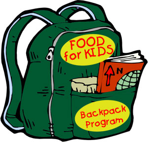 Back packs filled with food clipart png transparent library Backpack Drive Clipart - Clipart Kid png transparent library