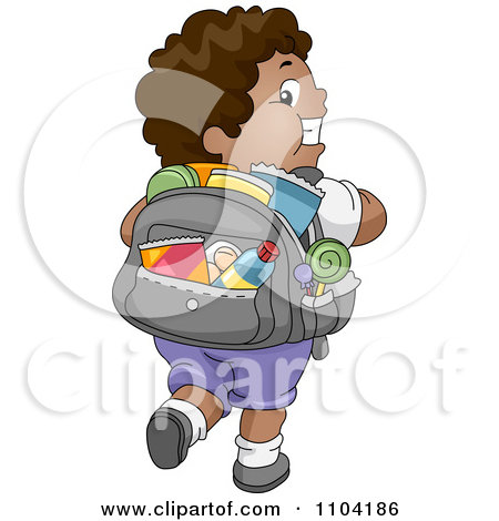 Back packs filled with food clipart banner library download Royalty Free Junk Food Illustrations by BNP Design Studio Page 1 banner library download