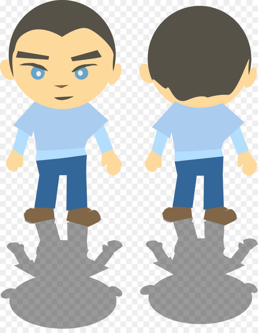 Back to back cartoon clipart jpg Boy Cartoon clipart - Boy, Child, Hand, transparent clip art jpg