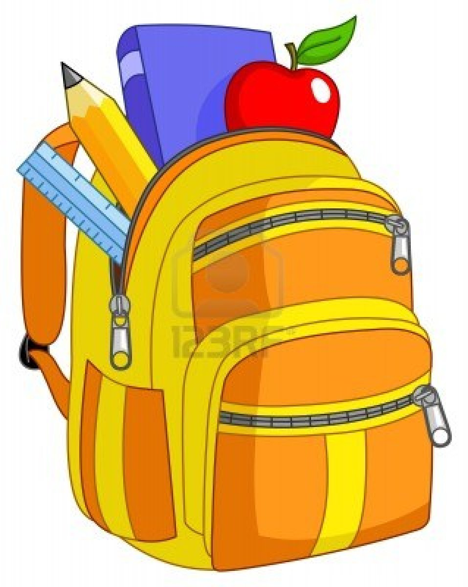 School Backpack Clipart | Clipart Panda - Free Clipart Images jpg royalty free
