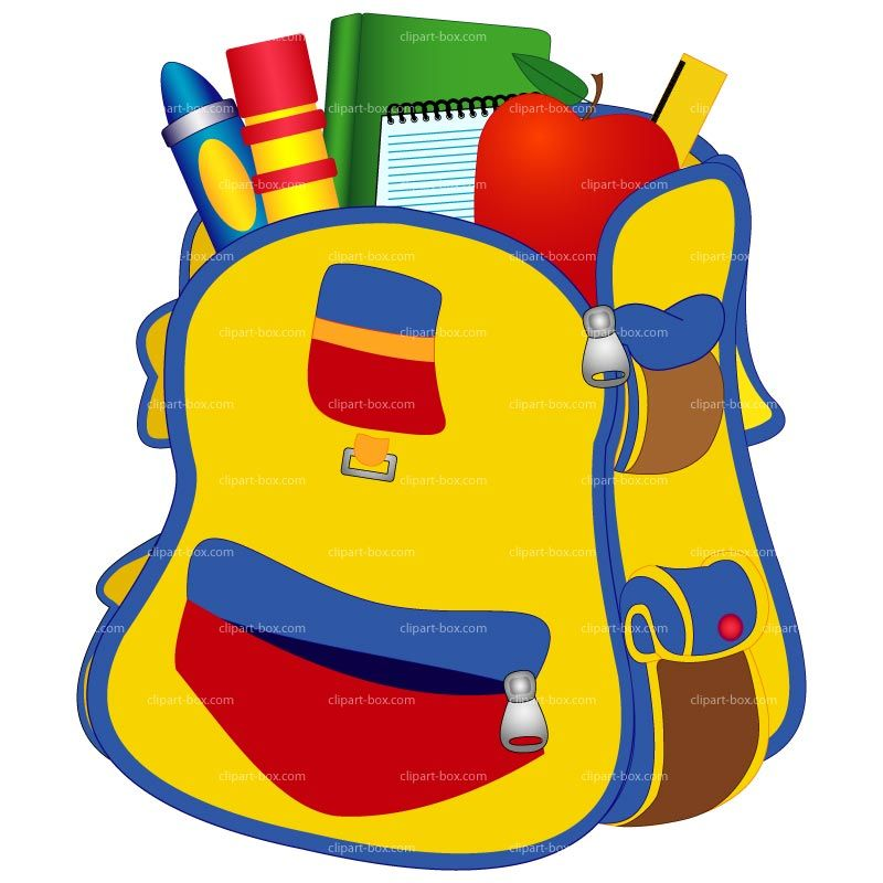 Back to school backpack clipart picture free stock School Backpack Clipart | Clipart library - Free Clipart Images ... picture free stock