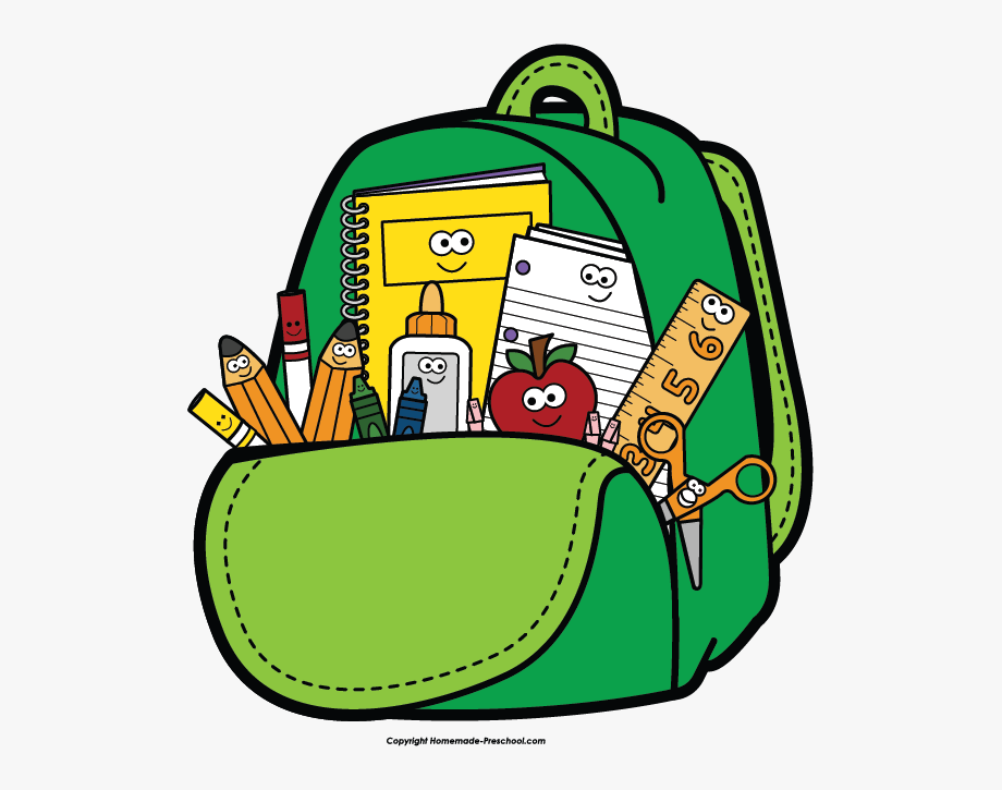 Back to school backpack clipart picture Back To School Clipart Clip Art Teacher - Backpack Clipart #14141 ... picture