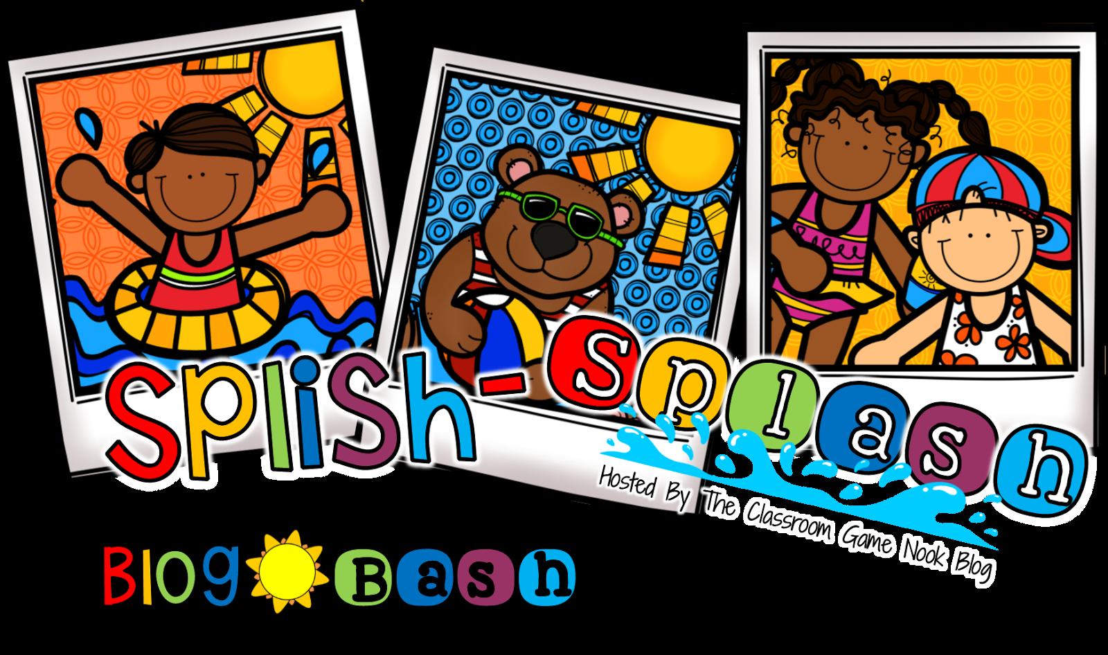 Back to school bash clipart jpg freeuse stock Forever in Fifth Grade: Splish Splash It's a Summer Time Blog Bash! jpg freeuse stock