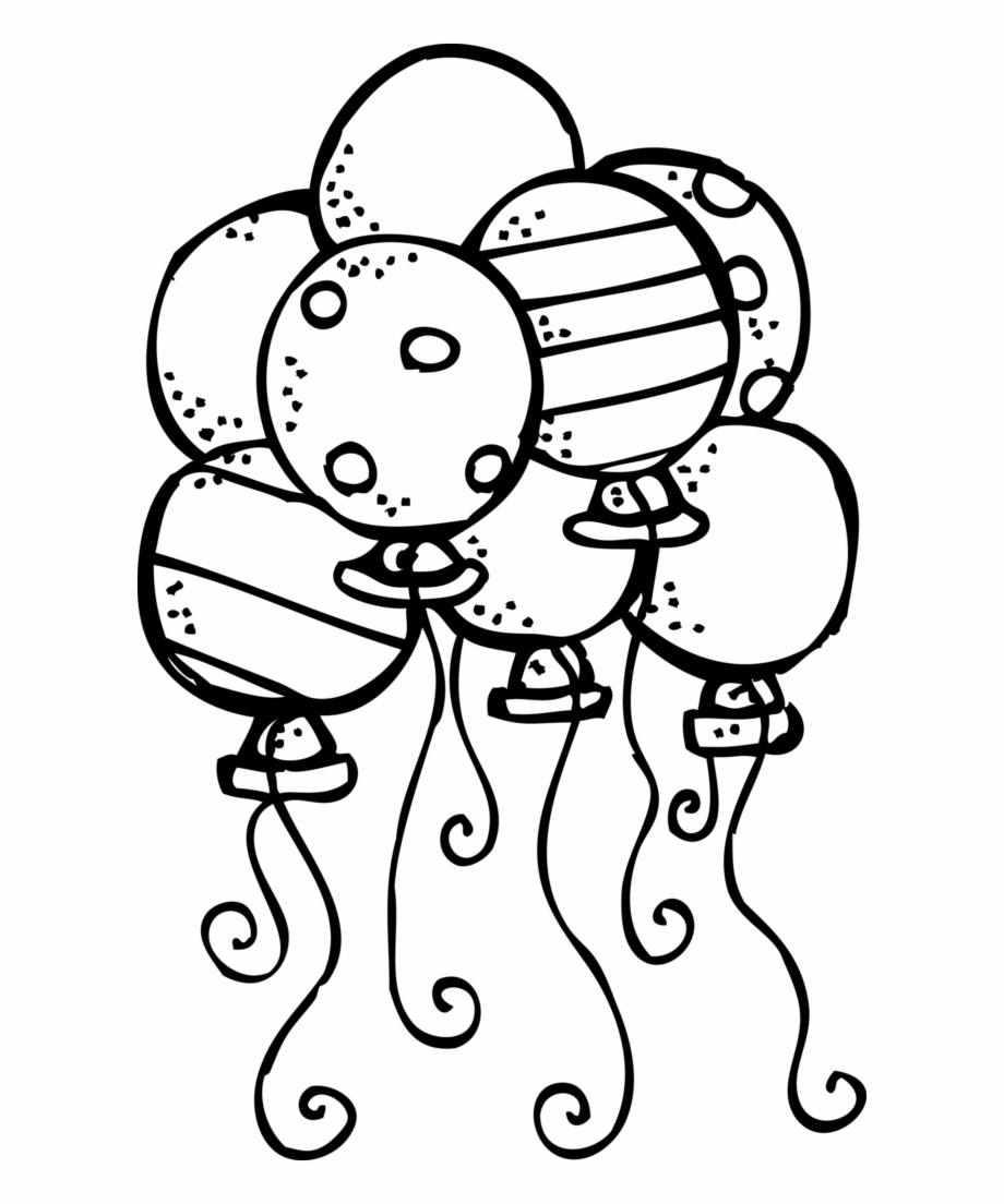 Back to school bash clipart black and white freeuse stock Back To School Clipart Black And White Balloon - Birthday Clipart ... freeuse stock