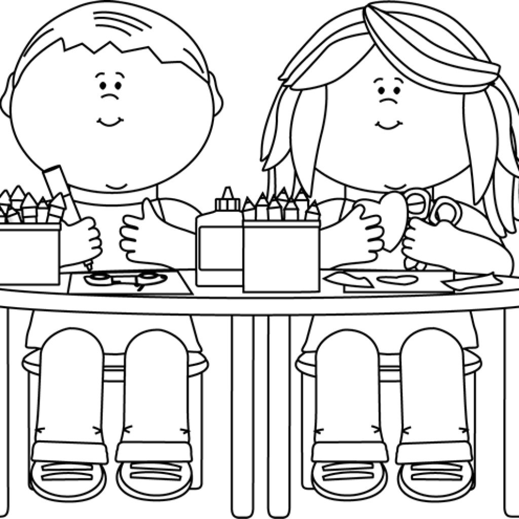 First day of school clipart black and white vector black and white library Back To School Clipart Black And White balloon clipart hatenylo.com vector black and white library