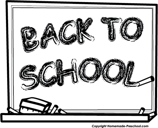 Back to school black and white clipart free vector royalty free library School Cliparts Black - Cliparts Zone vector royalty free library