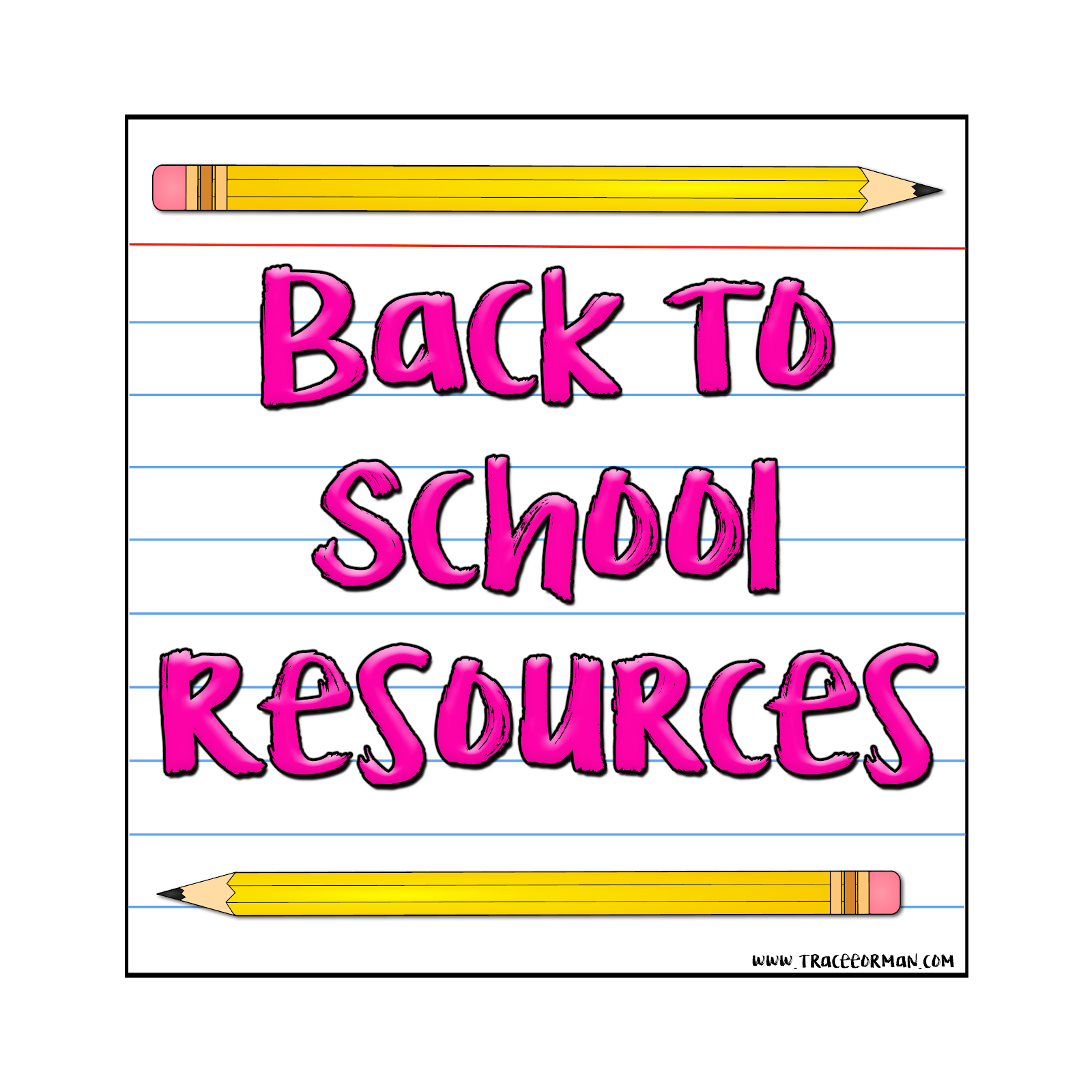 Back to school border clipart picture stock Mrs. Orman's Classroom: How to Insert Frames, Borders, or Clip Art ... picture stock
