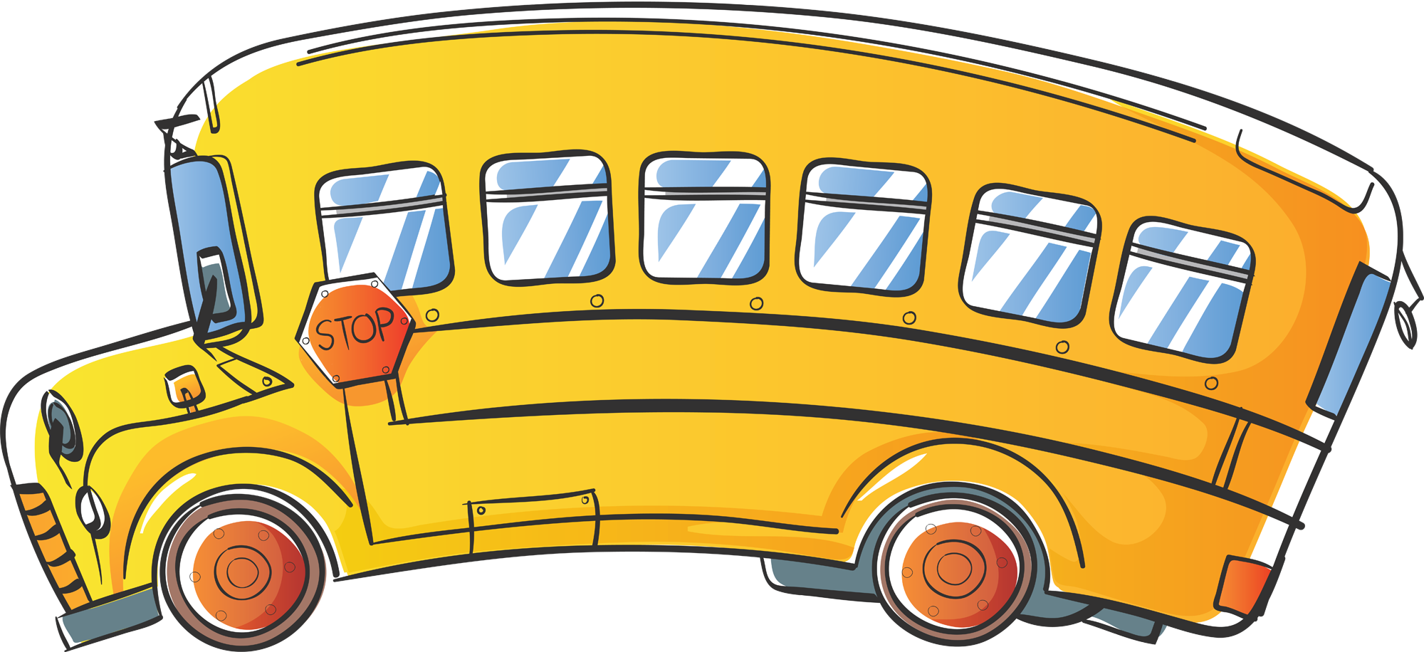 School bus clipart for kids png freeuse library 18fresh School Bus Clipart Free - Clip arts & coloring pages png freeuse library