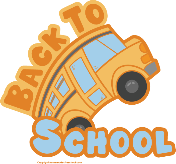Clipart for back to school png freeuse download Free Back to School Clipart png freeuse download
