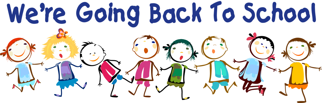 Kids back to school clipart banner library stock Welcome Back to School to all the Students at Luqa Primary School ... banner library stock