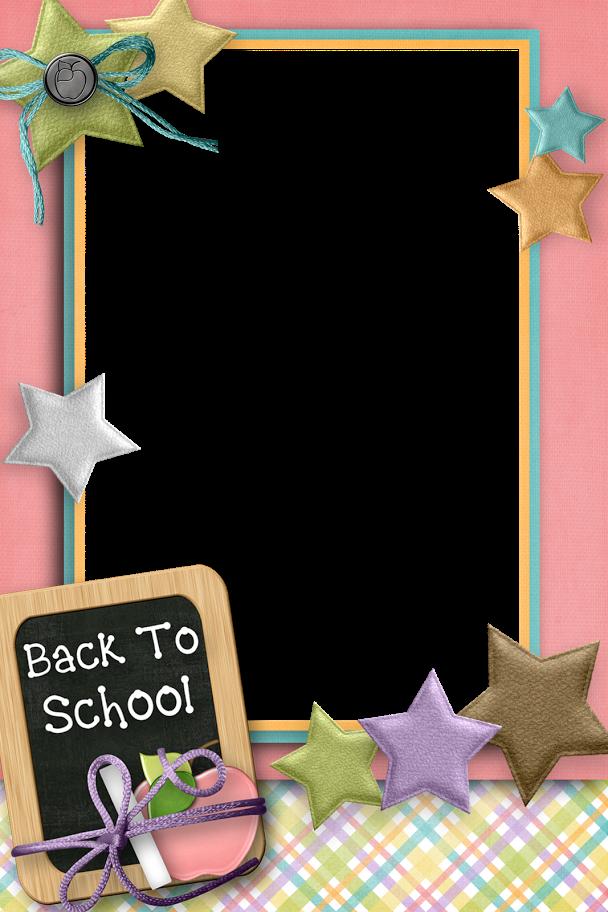 Back to school clipart border png transparent Back to School - Larry Derose - Picasa Web Albums. | MARCOS ... png transparent
