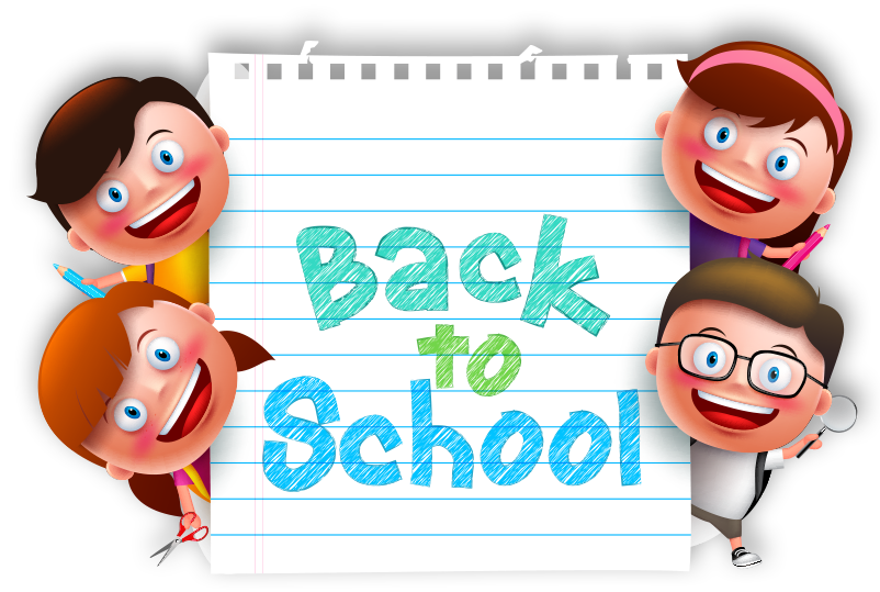 Back to school kids clipart clipart library stock Back To School Kids PNG Transparent Image | PNG Mart clipart library stock