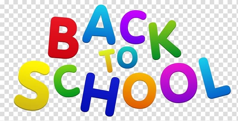 Back to school logo clipart jpg freeuse Assorted-color back to school illustration, School , Back to School ... jpg freeuse