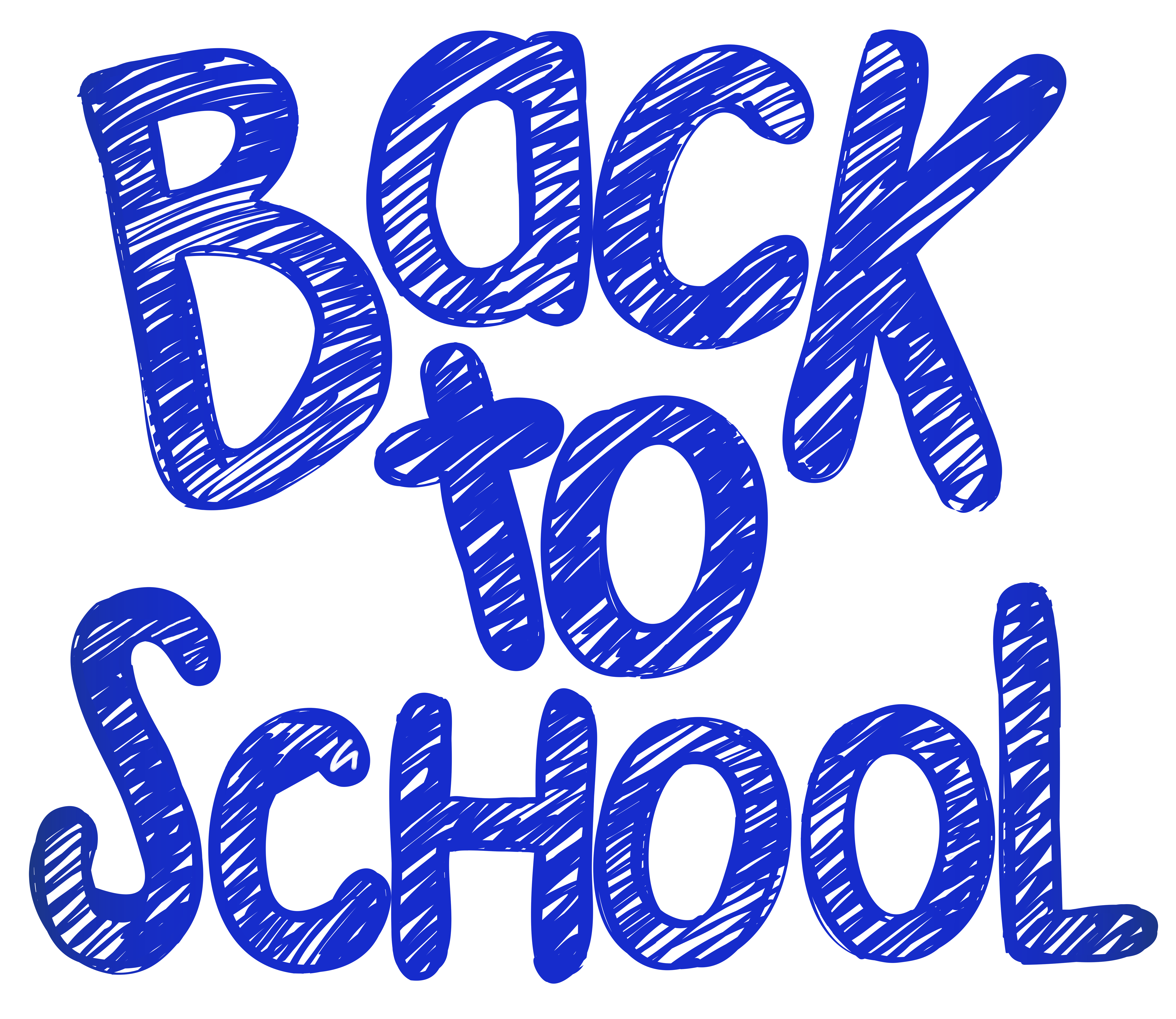 Back to school logo clipart clip black and white stock Back to School PNG Clip Art Image | Gallery Yopriceville - High ... clip black and white stock