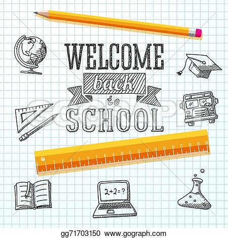 Back to school message clipart free library Back to school message clipart - ClipartNinja free library