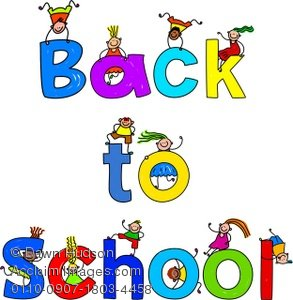 Back to school message clipart clipart black and white download Clipart for school messages - ClipartFest clipart black and white download