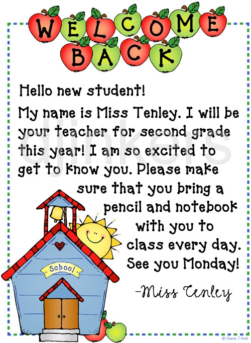 Back to school message clipart vector black and white library Clipart for school messages - ClipartFest vector black and white library